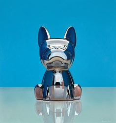 Mirror Dog by Christopher Green -  sized 16x17 inches. Available from Whitewall Galleries